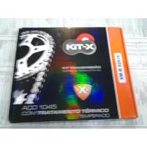 Relação Kit Transmissão Honda Nx 350 Sahara Kit-x Aço 1045