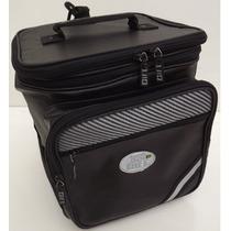 Mala Rabeta Moto Gift Expansiva Carbono Traseira, Bolsa