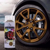 Spray Envelopamento Liquido Dourado 400ml Multilaser