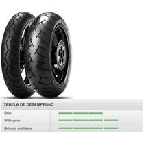 Pneu Pirelli Dianteiro Diablo 46p90/90-14tl Honda Pcx150