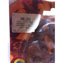 Pastilha Freio Traseira Kawasaki Vulvan 1500 Mold Mix