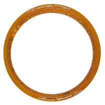 Par Aro Roda Aluminio 18x250 21x185 Dourado Viper Mod Street