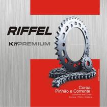 Kit Relação Riffel Yamaha Ys250 Fazer Coroa Pinhão Corrente
