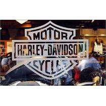 Adesivo Vinil Harley Davidson Jateado Capacete Moto Carro
