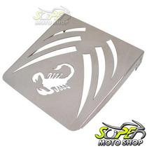 Bagageiro Suporte Scorpion P/ Sissy Bar Roncar Shadow 750