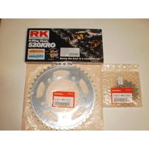 Kit Relação Transmissão Nc-700x Rk 520x120 Coroa Pinhão