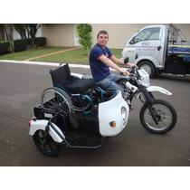 Sidecar Cadeirante (motocarga)
