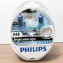 Jogo 2 Lampadas H4 Crital Vision Ultra 60/55w Philips 4300k