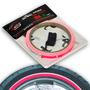 Adesivo Friso Fita De Roda Rosa Fluorescente Speed Style