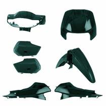Kit Carenagem Completa Biz100 Verde Met 2000 Modelo Original