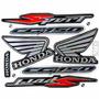 Kit Jogo Adesivo Honda Titan150 Sport 2005 Preta + Brinde