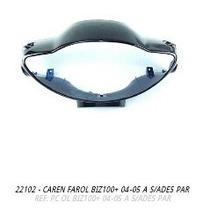 Carenagem Farol Biz100+ 2005-2005 Azul S-adesivo
