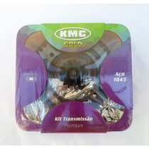 Kit Relação Transmissão Yamaha Fazer 250 Com Retentor Kmc