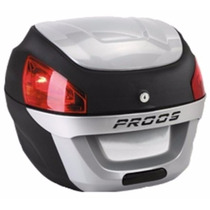 Bau Moto Bauleto 29 Litros Proos Preto E Prata