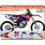Adesivos Ktm - 12 14- Factory 15 Red Bull - Qualidade 3m