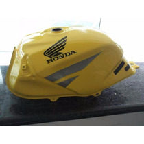 Tanque Combustivel Twister Sem Troca Amarelo - Suka Motos
