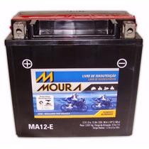 Bateria Moura Moto Ytx14-bs Yuasa Ma12-e 12ah Mirage 250 650