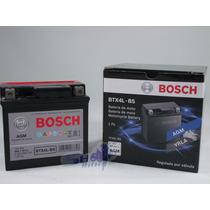 Bateria De Moto Bosch Em Gel Cg Titan Fan 125 2005 Até 2008
