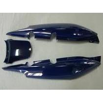 Kit Carenagem Rabeta Completa Honda Fan 125 Azul 2009/ 2010