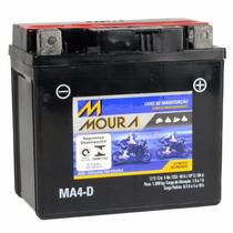 Bateria Ma4-di Moura Moto 4ah Yamaha Ybr125 Factor E / Ed