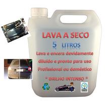 Lava Carro A Seco - 5 Litros Pronto P/ Uso - Economize Água