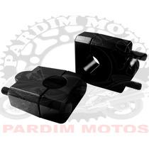Adaptador Riser Guidao 22 Mm 7/8 Anker Preto Motos Nacionais