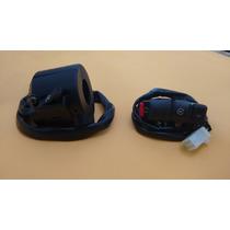 Chave Luz + Interruptor Partida Cg 125 Es / Kse 2000 A 2004