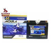 Bateria Moura Ma11e Virago 535 Dragstar 650 R1 Shadow 750 06