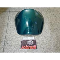 Moto 2386 Carenagem Frontal (bico) Biz 100 2002 Verde Met.