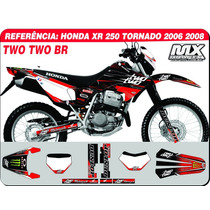 Kit De Adesivos Tornado 06 08 - Two Two Br -qualidade 3m