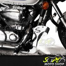 Protetor Motor Mata Cachorro Pedaleira Cobra Shadow 750 11/.