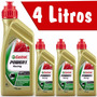 Kit Oleo Castrol Moto Power 1 Racing 4t 10w 40 4 Litros