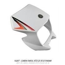 Carenagem Farol Xtz125 2005 Branco