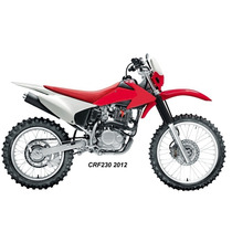 Novo Kit Crf230 Para Xre300 + Tanque + Banco Vermelho + Kit