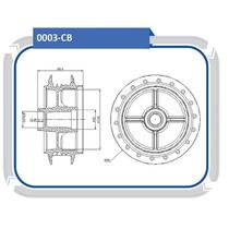 Cubo Roda Traseira Honda Cg Titan 150 2004 A Diante #