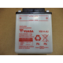 Bateria Yuasa Yb14-a2 - Honda Cbx 750f / Cbf 1000