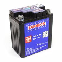 Bateria Selada Fabreck 6 Amperes Cbx 250 Twister 2001 A 2008