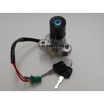 Kit Chave Ignição Suzuki Yes 125 Tampa De Tanque 21240/39080