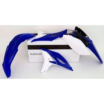 Kit Plasticos Yam-yzf 250 11-13 Azul/branco Rtech