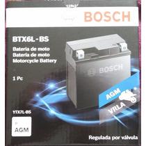 Bateria Moto Bosch Ytx7lbs Yuasa Btx6lbs Tornado Bros Lead