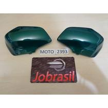 Moto 2393 Cobertura Garfo Biz 2002 Verde Metalico Melc