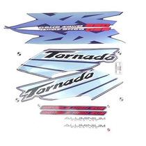 Adesivo Xr250 Tornado 2003 Azul Kit