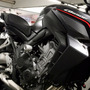 Slider Motos Dianteiro Honda Cb 650f 2015 Evolution Racing