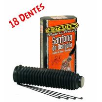 Sanfona De Bengala 18 Dentes Preta ( Par ) Circuit