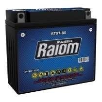 Bateria Yb7b-b Rtx7-bs Raiom Cbx/xr200/nx350/xt/