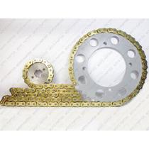 Kit Relação Transmissão Corrente Gold C/retentor Virago 250