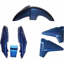Rabeta Paralama Lateral Kit Completo Dafra Speed 150 Azul