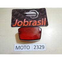 Moto 2329 Lente Lanterna Traseira Yamaha Dt Vermelha
