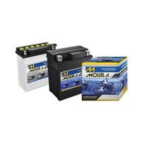 Bateria Para Moto Moura 5ah Ma5di Cg150/bros/xre
