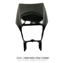 Carenagem Farol Xt600 Preto + Brinde
